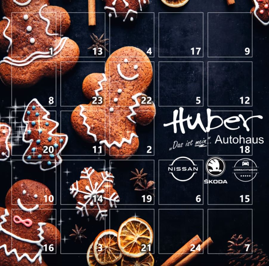 Huber Adventskalender