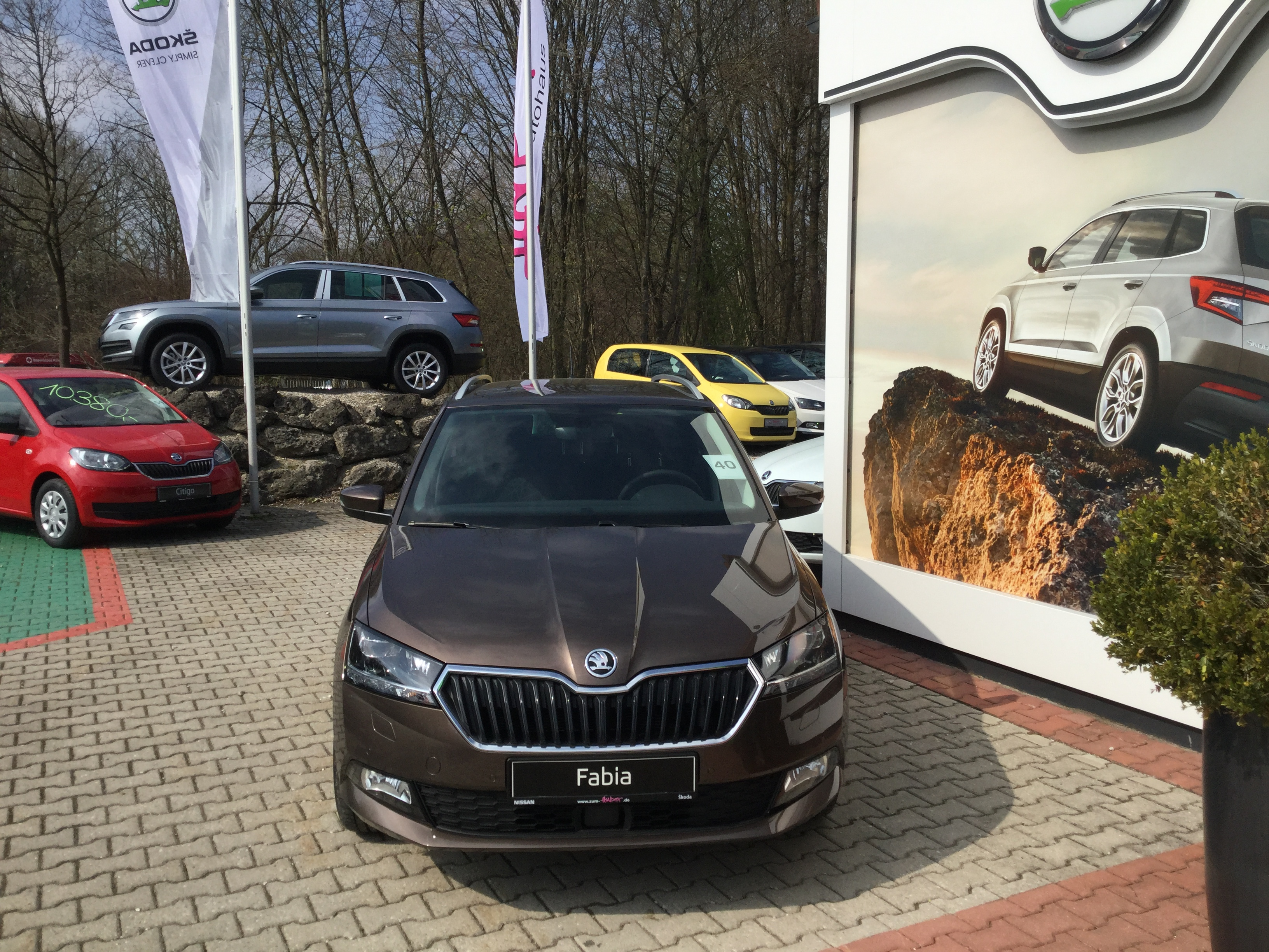 Fabia Combi Clever 1,0 MPI 55KW